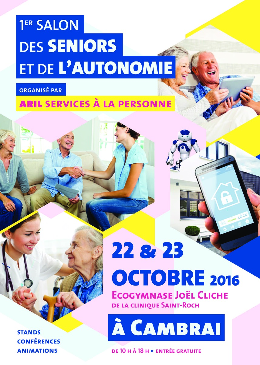 1er salon des seniors et de l 39 autonomie for Salon seniors