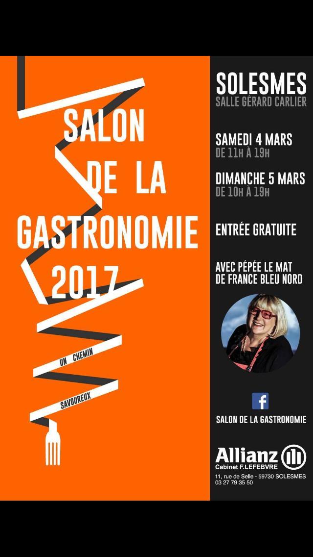 Salon de la gastronomie solesmes for Salon de la gastronomie