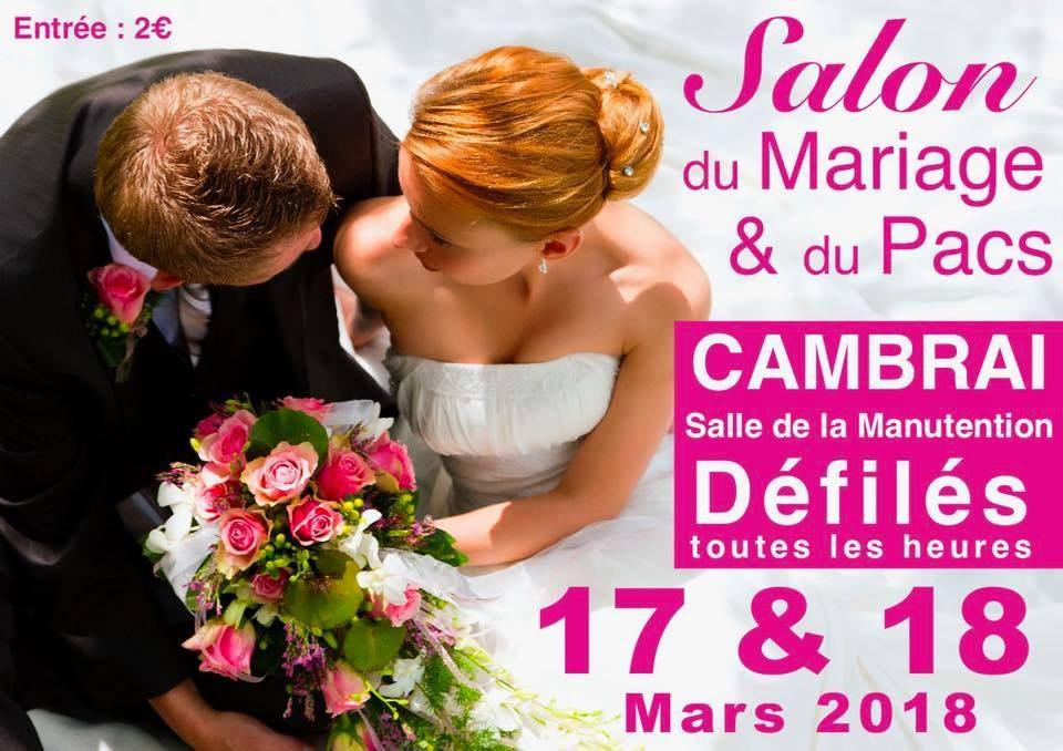 Salon du mariage et du pacs cambrai for Salon de la manutention